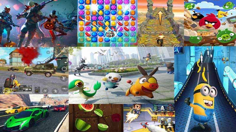 ücretsiz popüler mobil oyunlar