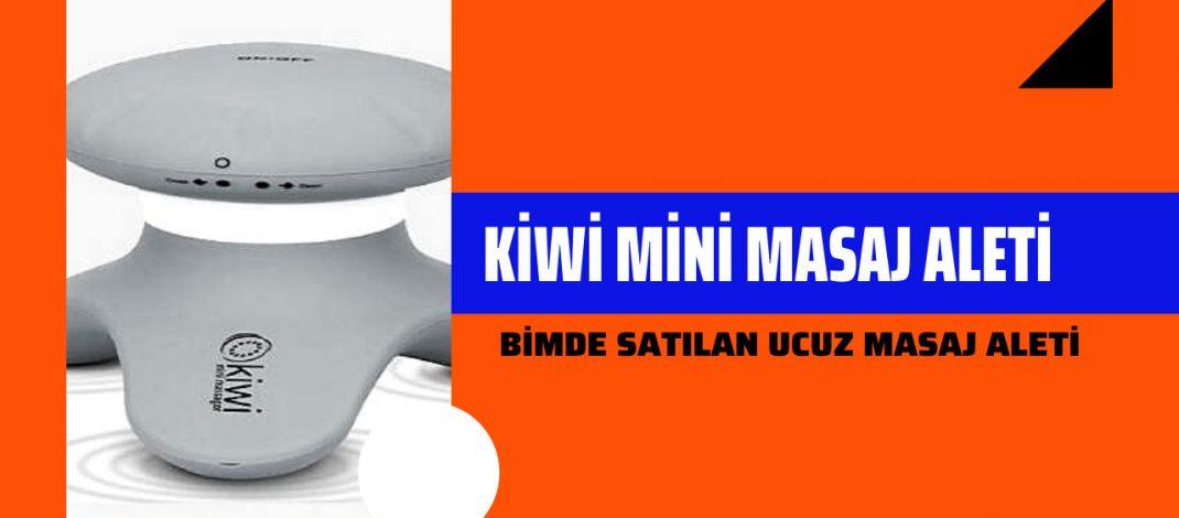 Kiwi Mini Masaj Aleti Ürün İnceleme