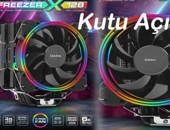 Dark Freezer X128 2x12cm FRGB LED İşlemci Soğutucu